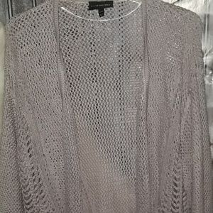 Lane Bryant Sweaters - Lane Bryant open front Sweater Lilac purple